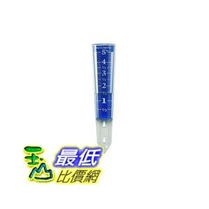 [105美國直購] AcuRite 00850A2 雨量計 5-Inch Capacity Easy-Read Magnifying Rain