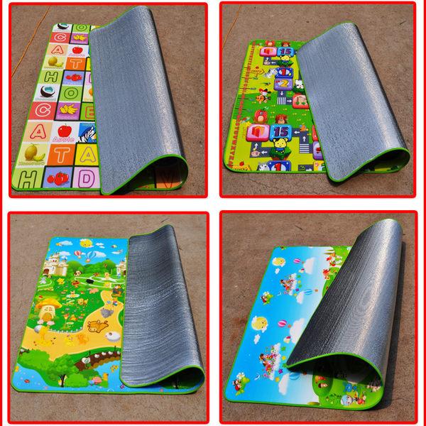 戶外野餐墊 環保防潮墊 防水加厚0.5MM爬行墊 折疊遊戲墊 送手提收納袋 單面 300cm*180cm