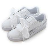 Puma BASKET HEART BLING JR  經典復古鞋 36684702 女 舒適 運動 休閒 新款 流行 經典