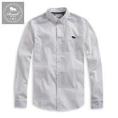 【Roush】 側邊織帶設計牛津布襯衫 -【915623】