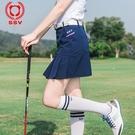 高爾夫裙 夏季單件SSV高爾夫服裝女款短裙褲修身半裙子舒適顯瘦golf球服裝-Ballet朵朵