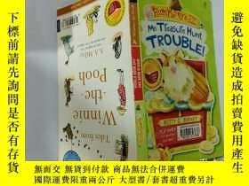 二手書博民逛書店My罕見treasure hunt trouble:我的尋寶麻煩Y200392