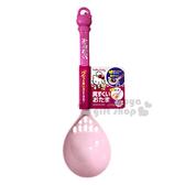 〔小禮堂〕Hello Kitty 造型瀝湯勺《桃粉.站立》濾勺.銅板小物 4573135-57730