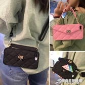 斜挎零錢包包iPhone8plus手機殼蘋果11掛繩殼可以背的XS MAX潮牌XR手提 時尚芭莎