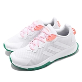 adidas 休閒鞋 Quesa Trail X 白 橘 女鞋 運動鞋 【ACS】 EH2076