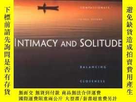二手書博民逛書店Intimacy罕見& SolitudeY364682 Dowrick, S W W Norton &