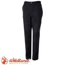 【Wildland 荒野 女款 防水防風保暖長褲《黑》】0A52315/彈性快乾/休閒褲/機能褲