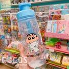 正版 蠟筆小新 吊帶式PP水壺 兒童水壺 直飲水壺 隨身攜帶式水壺 500c.c 藍色款 COCOS AN100P