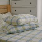 長絨棉 色織雙層紗 枕套2入【萊姆格格】自由混搭 簡約文青 翔仔居家