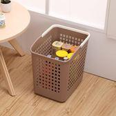 日式加厚臟衣籃洗衣籃塑膠特大號臟衣簍洗衣桶臟衣服收納筐浴室WY 聖誕禮物熱銷款