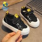 帆布鞋芭芭鴨2021春季新款兒童帆布鞋男童鞋子女童寶寶布鞋春款小童板鞋