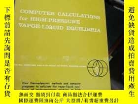 二手書博民逛書店COMPUTER罕見CALCULATIONS FOR HIGH-