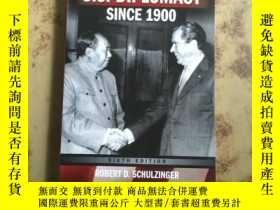 二手書博民逛書店U.S.罕見Diplomacy Since 1900(英文原版)