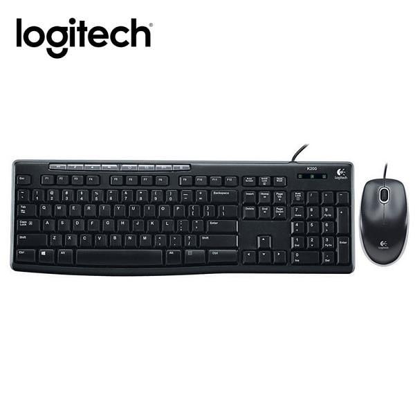 【南紡購物中心】羅技 MK200 USB鍵盤滑鼠組