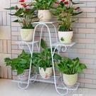 花架子多層室內特價家用陽台裝飾架鐵藝客廳省空間花盆落地式綠蘿  韓語空間