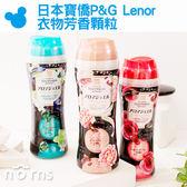 【日本寶僑P&G Lenor 衣物芳香顆粒】Norns 香香粒 洗衣香香豆 室內芳香劑 375g香氛衣物