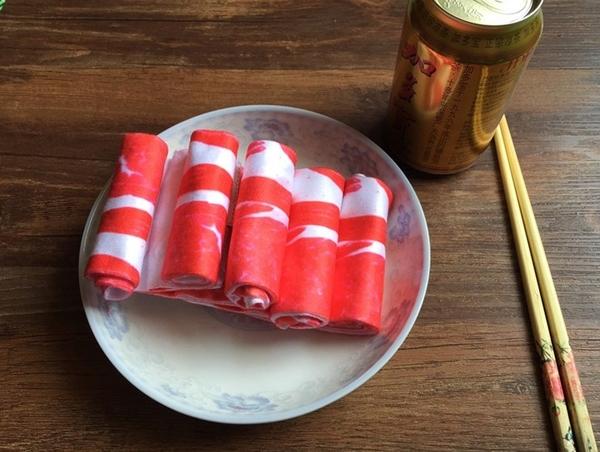 五花肉襪子 搞怪禮物 食物仿真 交換禮物【H00495】