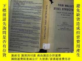 二手書博民逛書店THE罕見WALLED STEEL STRUCTURES (C4