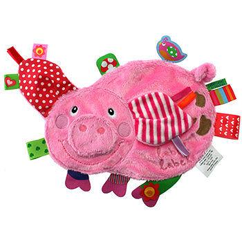 【出清優惠】比利時 LABEL LABEL 安撫巾 - 玩伴系列 ﹣小豬