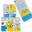 Adventure time 探險活寶 iPhone 6/6s 可愛透明彩繪保護軟套-主角系列