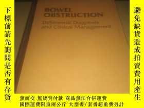 二手書博民逛書店BOWEL罕見OBSTRUCTIONY15667 出版1990