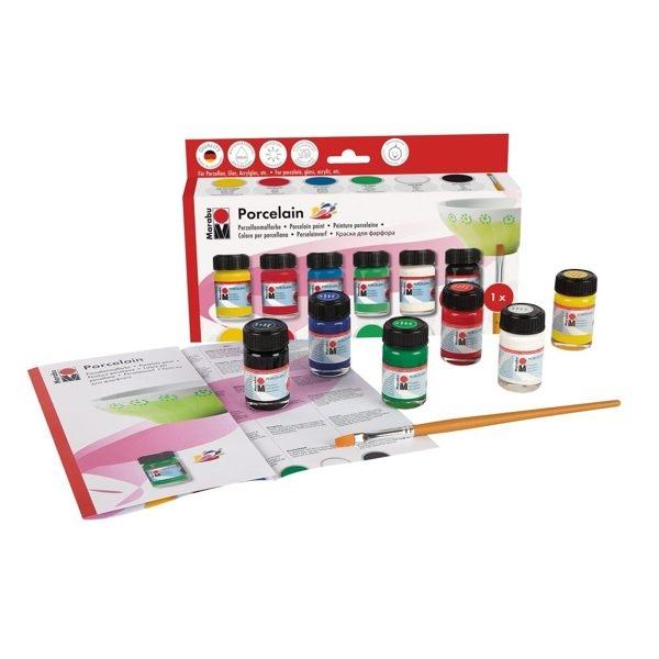 JAKO-O德國野酷-德國MARABU 瓷器彩繪顏料