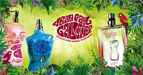 Jean Paul Gaultier 2009 限量夏香 -熱帶伊甸園男香 125ml