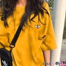 熱賣短袖上衣 2021年春夏季新款韓風半袖上衣小眾設計感女裝潮牌短袖t恤 coco