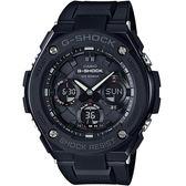 【台南 時代鐘錶 CASIO】卡西歐 G-SHOCK 宏崑公司貨 GST-S100G-1B 絕對強悍雙顯運動錶款