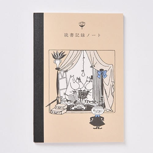 MOOMIN嚕嚕米日本製讀書心得記錄本(家族)★funbox★Gakken_GK18573