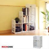 【RICHOME 】SH482 《南歐鄉村風二層架》五層架置物架 架收納架