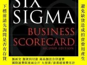 二手書博民逛書店Six罕見Sigma Business ScorecardY25
