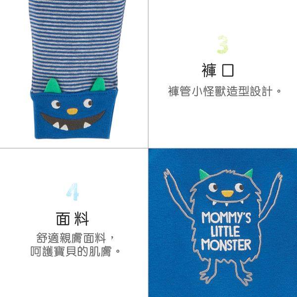 【美國 carter s】 俏皮小怪獸3件組套裝-台灣總代理