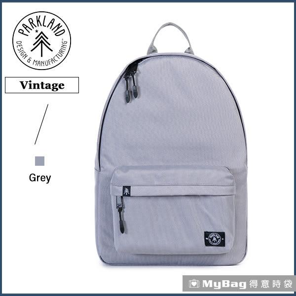 Parkland 後背包 灰色 電腦後背包 簡約休閒背包 Vintage-017 MyBag得意時袋