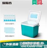 保溫箱冷藏箱車載商用擺攤戶外家用便攜冰箱冰袋反復使用冰桶保冷 NMS名購新品