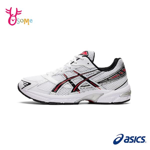 ASICS慢跑鞋 女鞋 GEL-1130 復古運動鞋 跑步鞋 運動休閒鞋 亞瑟膠 亞瑟士 D9103#白紅◆奧森