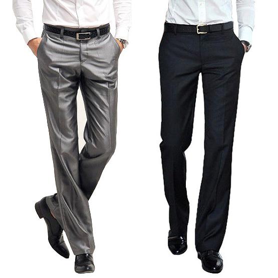 2020西褲 男 褲子 男式修身西褲 男士西褲 夏季薄正裝職業西裝褲 依凡卡時尚