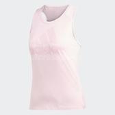 adidas 背心 logo Tank 粉紅 無袖上衣 挖背 女款 【PUMP306】 DU1312