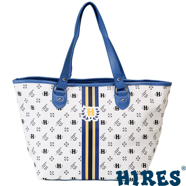 HIRES-夏日經典LOGO元素系列-托特包