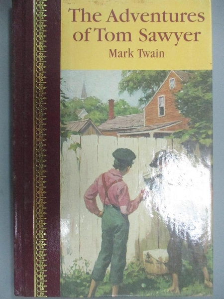 【書寶二手書T5/百科全書_OPV】The Adventures of Tom Sawyer_Twain, Mark/