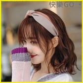 【快樂購】髮箍 髮箍簡約百搭清新髮帶韓國頭飾壓髮頭箍卡子