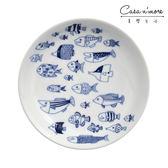 【預購】Natural69 波佐見燒 CocoMarine系列 前菜碟 圓盤 點心盤 沙拉盤 醬料碟 13cm 魚之散策 日本製