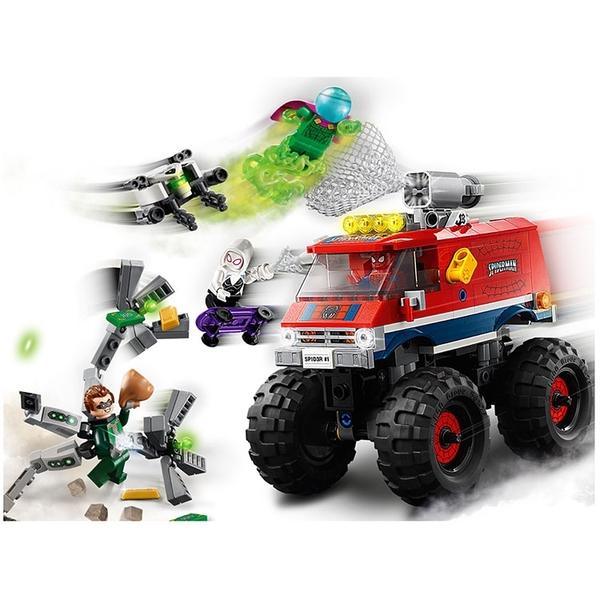 LEGO樂高 Marvel Avengers系列 Spider-Man's Monster Truck vs. Mysterio_LG76174