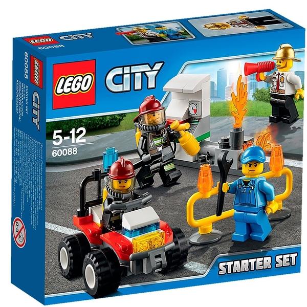 LEGO 樂高 CITY 城市系列 Fire Starter set 消防系列入門套裝 60088