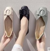 2020春季新款韓版平底休閒單鞋百搭淺口網紅仙女溫柔晚晚豆豆鞋潮 印象家品