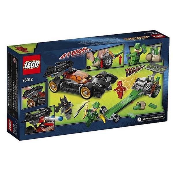 LEGO 樂高 超級英雄系列 Batman: The Riddler Chase 76012