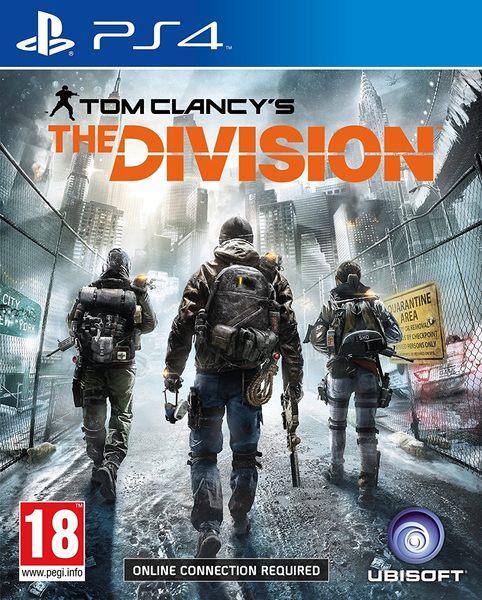 PS4 湯姆克蘭西:全境封鎖 -中文版- Tom Clancy's The Division