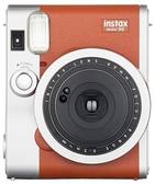 【日本代購】FUJIFILM Instax Mini 90 拍立得相機 雙重曝光 夜景模式 復古風格-棕色