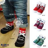 襪子 帆布鞋造型立體鞋帶 兒童襪 四色 寶貝童衣