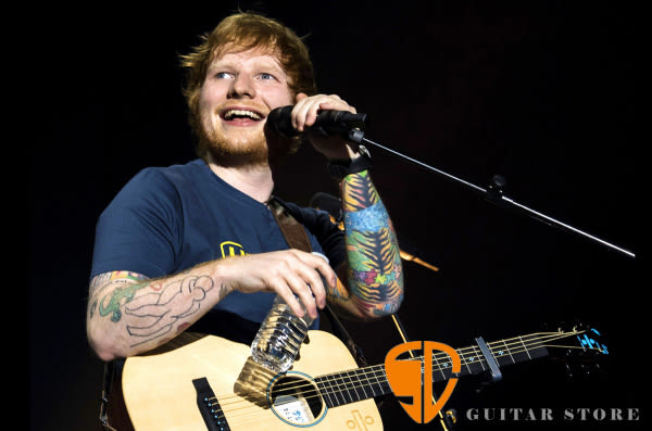 【紅髮艾德 2017簽名款】Martin X Ed Sheeran 可插電小吉他/旅行吉他/電木【雲杉木面單】 【附吉他袋】